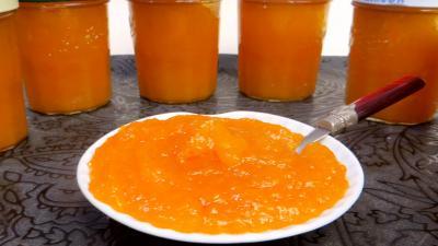 Confiture d'abricots secs et pommes - 4.4