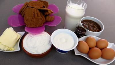 Ingrédients pour la recette : Cheesecake à la vanille