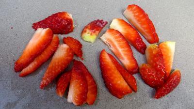 Salade de fraises et de fruits secs - 2.2
