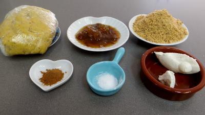 Ingrédients pour la recette : Escargots à la confiture