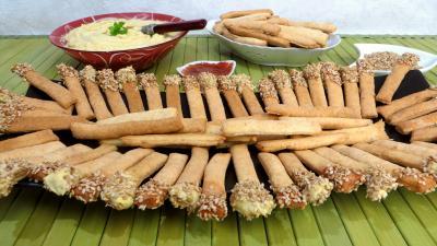 Recettes rapides : Allumettes aux anchois
