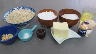 Ingrédients pour la recette : Délice aux amandes