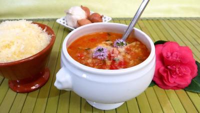 Recette Potage à la tomate