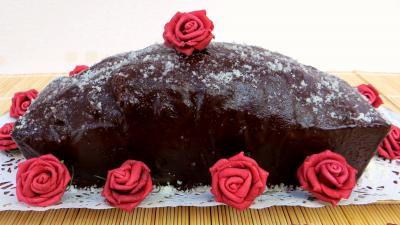 Dessert au chocolat : Marbré chocolat citron