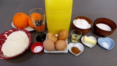 Ingrédients pour la recette : Boulettes à la cannelle