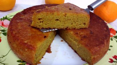 Les grands classiques : Part de gâteau à l'orange