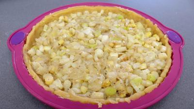 Tourte aux asperges et poireaux - 4.2