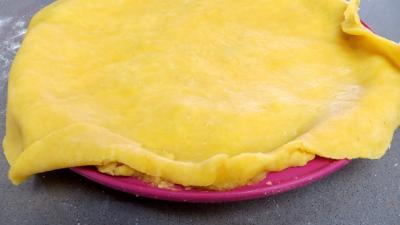 Tourte aux asperges et poireaux - 7.2