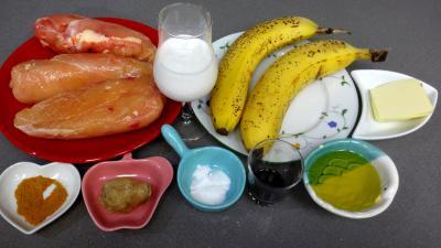 Ingrédients pour la recette : Poulet exotique de Christelle