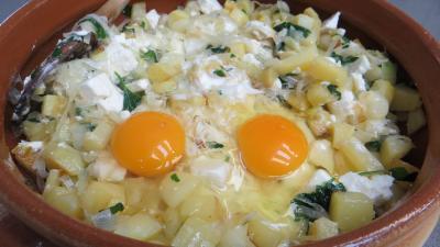 Gâteau de poireaux et pommes de terre - 5.1