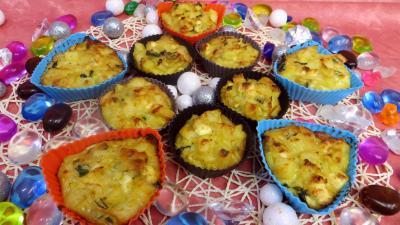 cuisine fromage : Petits gâteaux de légumes de poireaux et pommes de terre