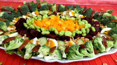 Recette Salade de brocolis et fèves