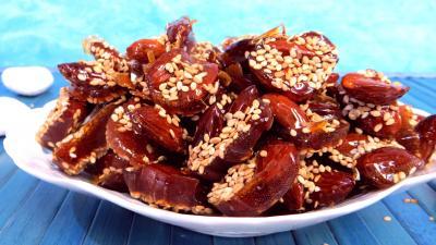 Amandes caramélisées aux graines de sésames - 3.3