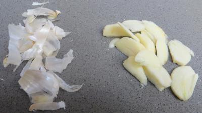 Velouté de fèves au chèvre frais - 1.4