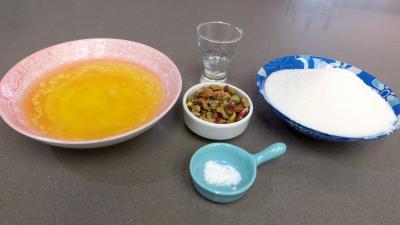 Ingrédients pour la recette : Meringues à la fleur d'oranger