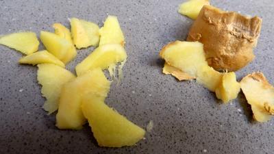 Croustillants de pommes de terre à l'oseille et crevettes - 2.1