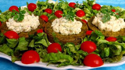 Image : recette Croustillants de pommes de terre à l'oseille et crevettes