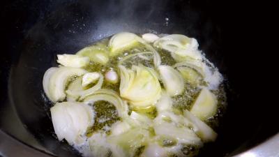 Crème de pois frais à la menthe - 2.2