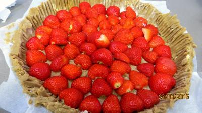 Tarte aux fraises et streusel - 2.1