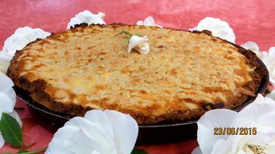 tarte sucrée : Tarte aux fraises et streusel