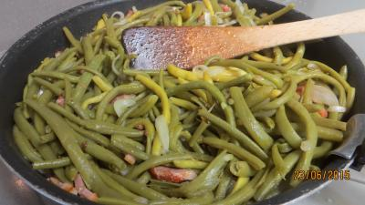 Haricots verts aux amandes - 3.4