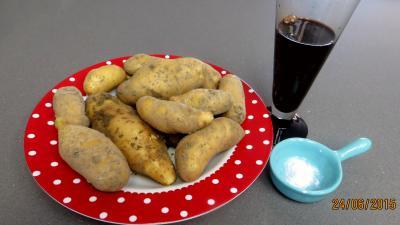 Ingrédients pour la recette : Chips au vinaigre