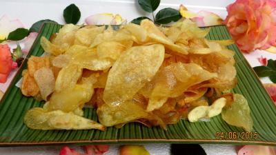 vinaigre balsamique : Chips au vinaigre