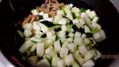 Jambon et foie de veau aux champignons - 5.2