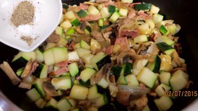 Jambon et foie de veau aux champignons - 6.2
