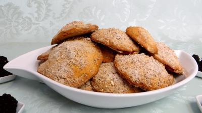 Desserts : Biscuits canailles aux mûres