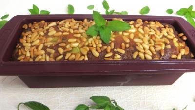 Cuisine diététique : Moule cake aux courgettes et feta