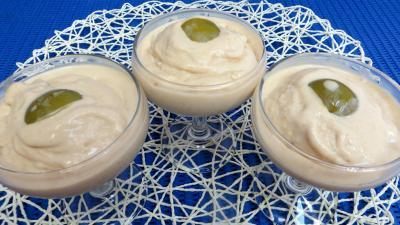 Image : Coupe de crème glacée aux reines-claude et mascarpone