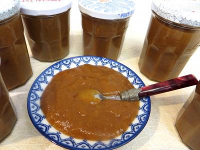 chutney : Coupelle de chutney de figues à la cannelle