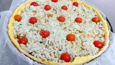 Pizza aux oignons et au bleu - 7.1