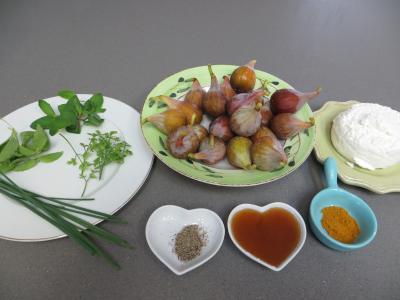 Ingrédients pour la recette : Bouchées moelleuses aux figues
