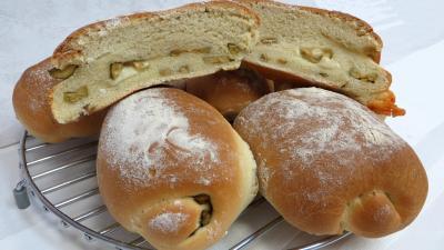 pain farci : Pain façon focaccia
