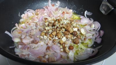 Salade cuite aux crevettes - 4.4