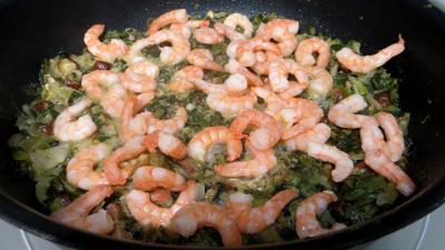 Salade cuite aux crevettes - 8.1
