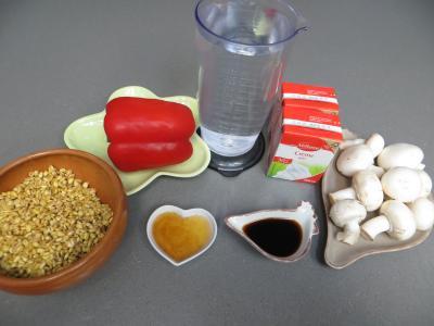 Ingrédients pour la recette : Assiette de blé à la japonaise