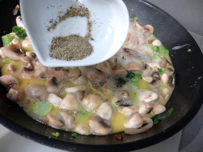 Filets de boeuf aux champignons - 6.2