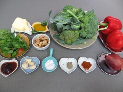 Ingrédients pour la recette : Brocolis à l'ail