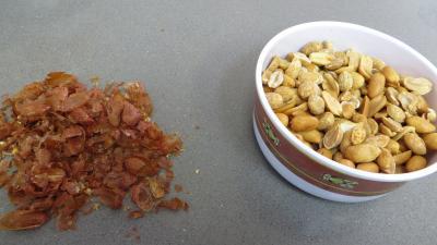 Beurre de cacahuètes et ses canapés - 1.1
