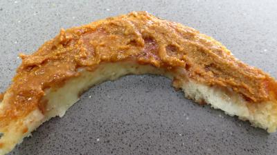 Beurre de cacahuètes et ses canapés - 4.3