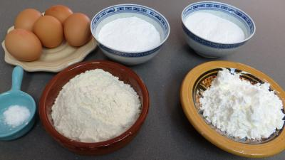 Ingrédients pour la recette : Biscuits à la cuiller