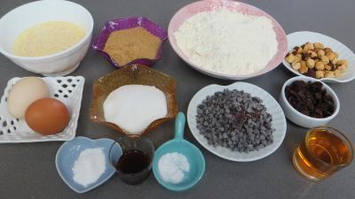 Ingrédients pour la recette : Cookies