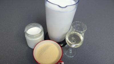 Ingrédients pour la recette : Yaourts au miel