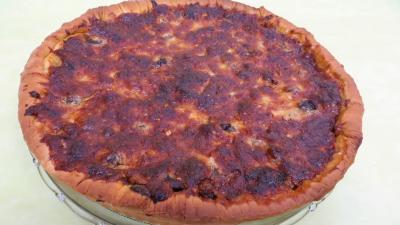 Pizza au magret et coeurs de canard - 7.4