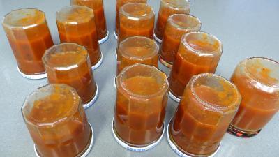 Sauce tomate aux piments doux - 8.2