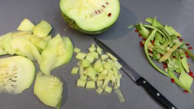 Confiture de pastèque et de fruits congelés - 2.1