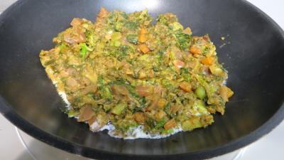 Restes de légumes de bouillon à la crème - 1.2